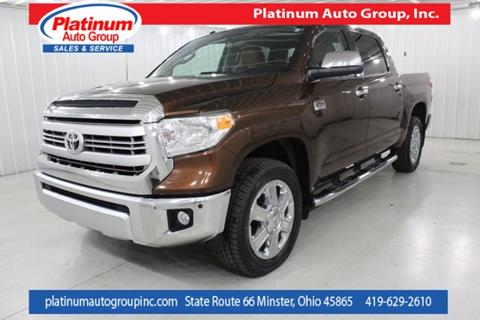 used 2014 toyota tundra for sale in ohio. Black Bedroom Furniture Sets. Home Design Ideas