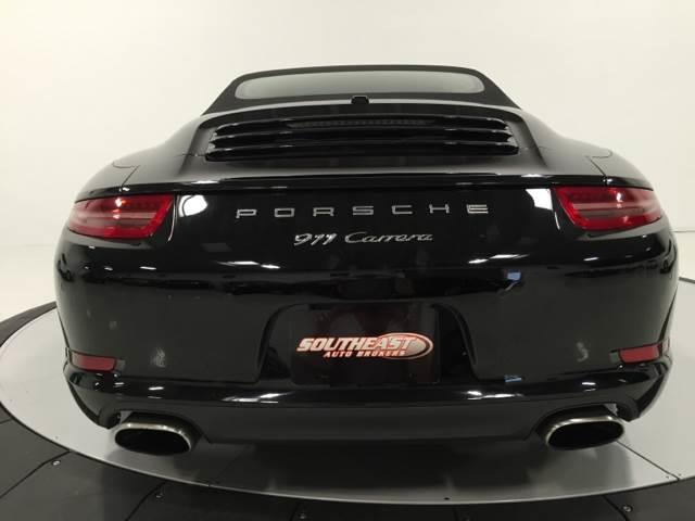 2014 Porsche 911 Carrera 2dr Convertible - Pompano Beach FL