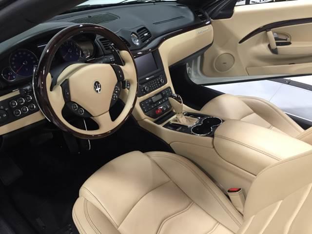 2015 Maserati GranTurismo 2dr Convertible - Pompano Beach FL