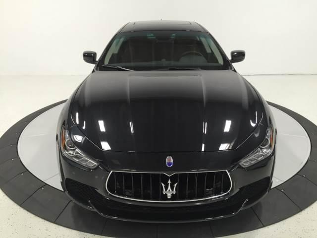 2015 Maserati Ghibli AWD S Q4 4dr Sedan - Pompano Beach FL