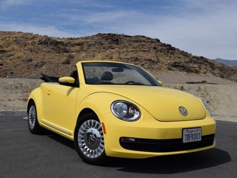 2013 Volkswagen Beetle for sale in Cathedral City CA