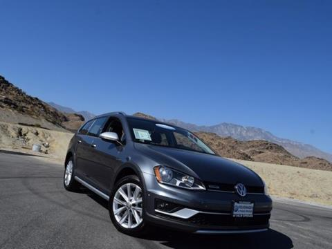 2017 Volkswagen Golf Alltrack for sale in Cathedral City CA