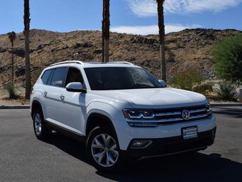 2018 Volkswagen Atlas for sale in Cathedral City CA