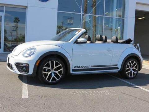 2017 Volkswagen Beetle for sale in Cathedral City CA