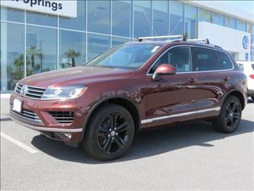 2017 Volkswagen Touareg for sale in Cathedral City, CA