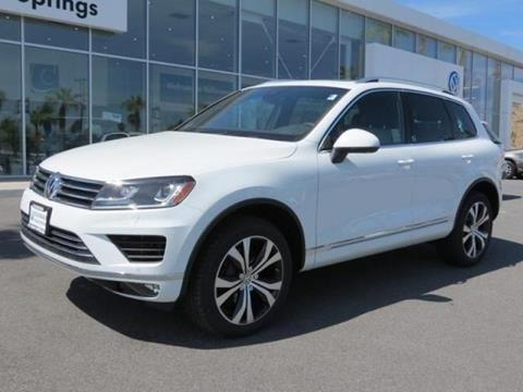 2017 Volkswagen Touareg for sale in Cathedral City CA