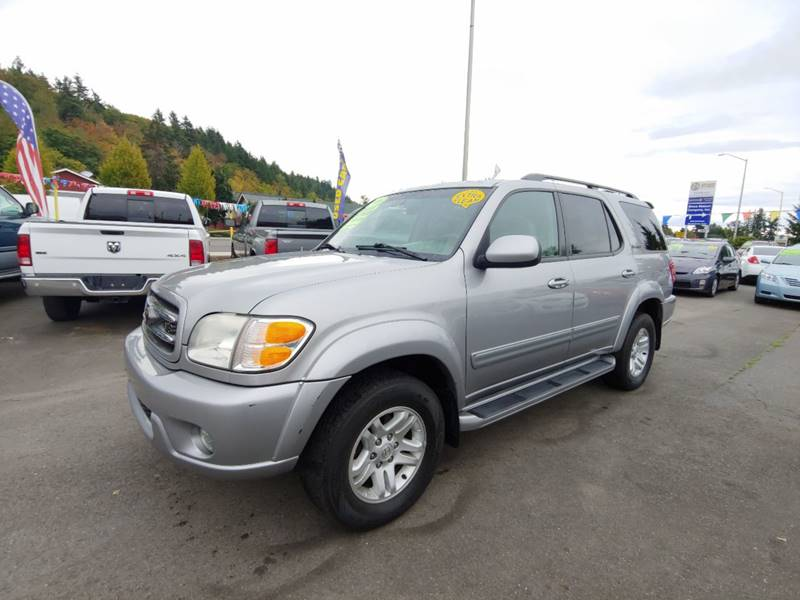 2003 toyota sequoia limited 4wd 4dr suv in kent wa kent grand auto sales llc. Black Bedroom Furniture Sets. Home Design Ideas