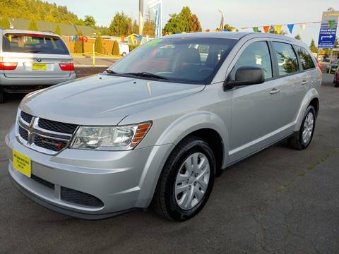 2013 Dodge Journey for sale at KENT GRAND AUTO SALES LLC in Kent WA