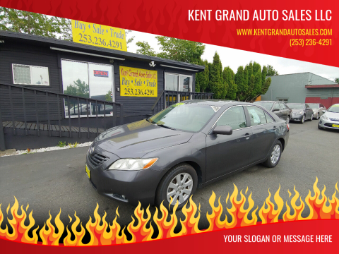 2007 Toyota Camry for sale at KENT GRAND AUTO SALES LLC in Kent WA