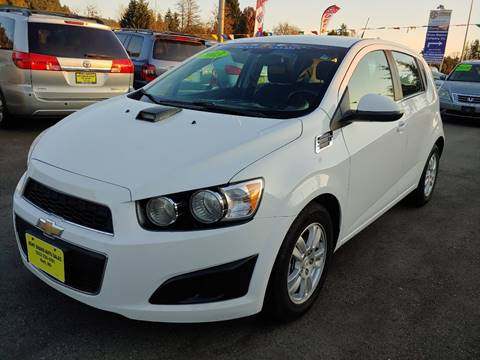 2013 Chevrolet Sonic for sale at KENT GRAND AUTO SALES LLC in Kent WA