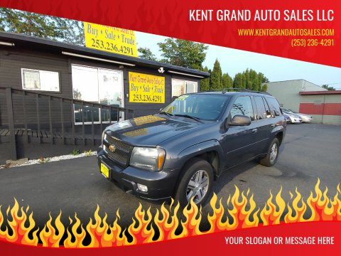 2007 Chevrolet TrailBlazer for sale at KENT GRAND AUTO SALES LLC in Kent WA