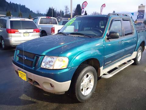 2002 Ford Explorer Sport Trac for sale at KENT GRAND AUTO SALES LLC in Kent WA