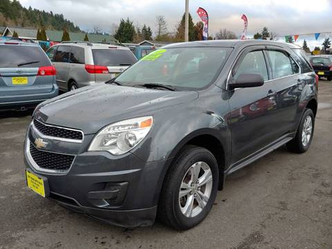 2011 Chevrolet Equinox for sale at KENT GRAND AUTO SALES LLC in Kent WA