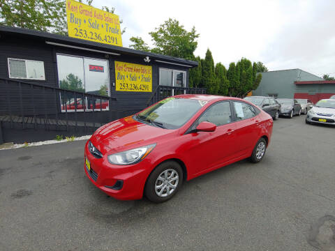 2012 Hyundai Accent for sale at KENT GRAND AUTO SALES LLC in Kent WA