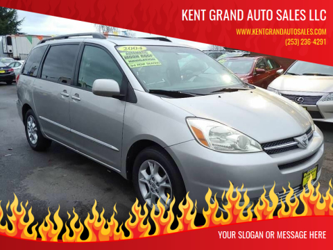 2004 Toyota Sienna for sale at KENT GRAND AUTO SALES LLC in Kent WA