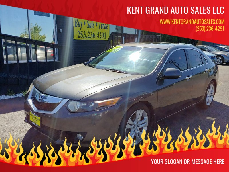 2010 Acura TSX for sale at KENT GRAND AUTO SALES LLC in Kent WA