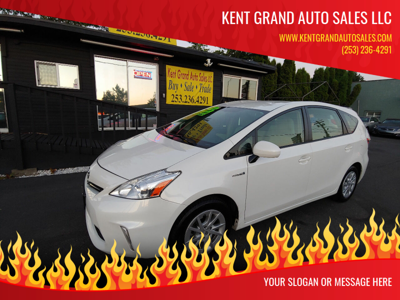 2014 Toyota Prius v for sale at KENT GRAND AUTO SALES LLC in Kent WA