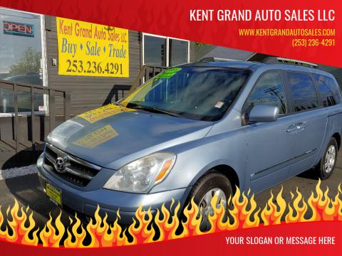 2008 Hyundai Entourage for sale at KENT GRAND AUTO SALES LLC in Kent WA