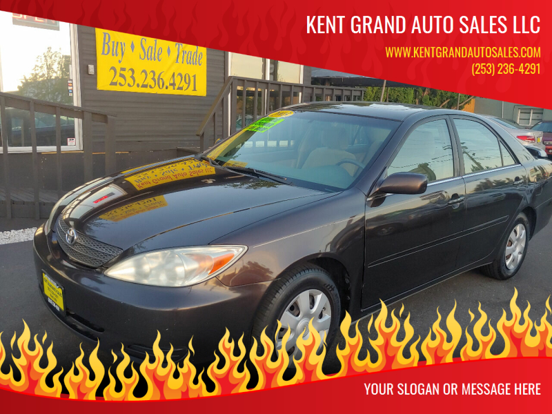 2003 Toyota Camry for sale at KENT GRAND AUTO SALES LLC in Kent WA