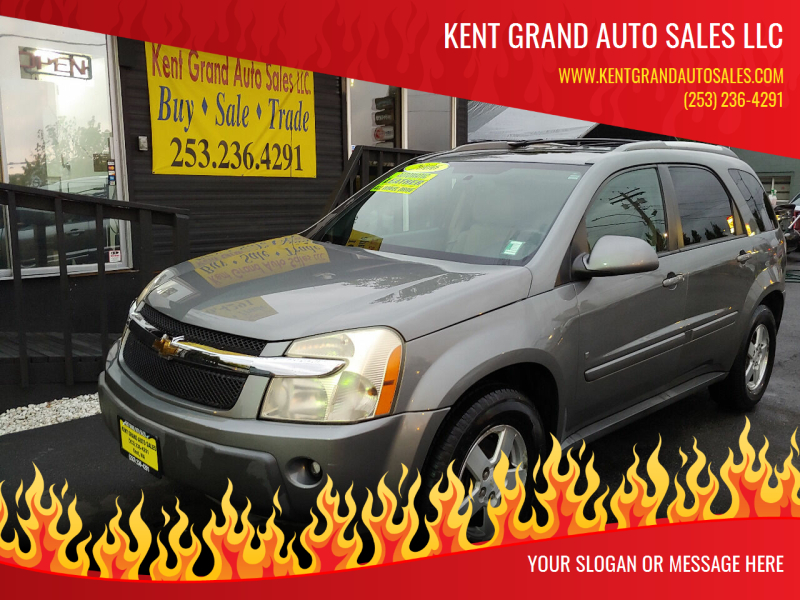 2006 Chevrolet Equinox for sale at KENT GRAND AUTO SALES LLC in Kent WA