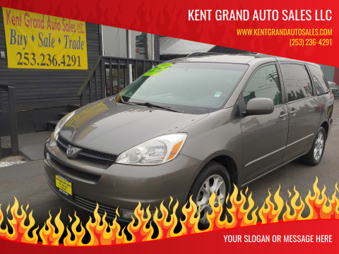 2005 Toyota Sienna for sale at KENT GRAND AUTO SALES LLC in Kent WA