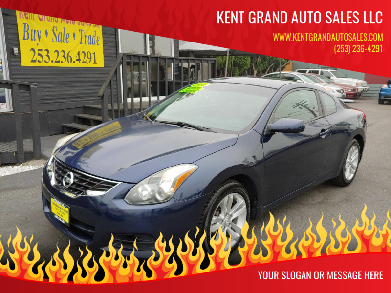 2010 Nissan Altima for sale at KENT GRAND AUTO SALES LLC in Kent WA