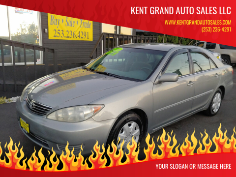 2006 Toyota Camry for sale at KENT GRAND AUTO SALES LLC in Kent WA