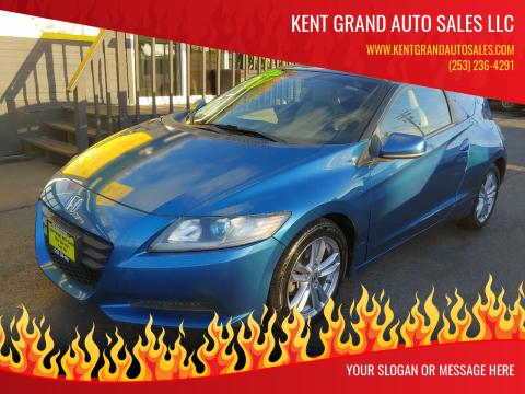 2011 Honda CR-Z for sale at KENT GRAND AUTO SALES LLC in Kent WA
