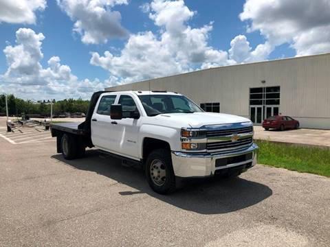 2015 Chevrolet Silverado 3500HD CC for sale in North Port, FL