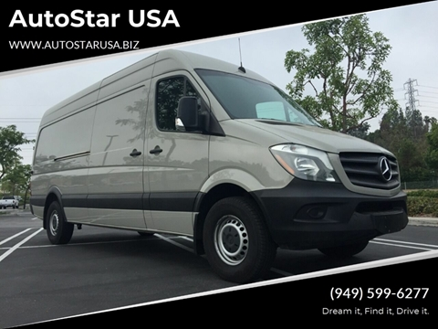 2017 Mercedes-Benz Sprinter Cargo for sale in Upland, CA