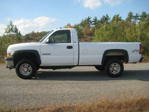 2002 Chevrolet Silverado 2500 for sale at GRS Auto Sales and GRS Recovery in Hampstead NH