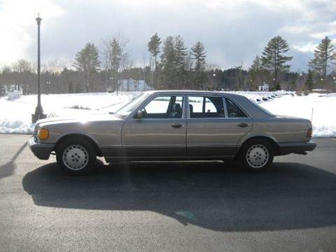1987 Mercedes-Benz 420-Class for sale at GRS Auto Sales and GRS Recovery in Hampstead NH