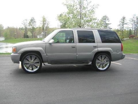 1999 GMC Yukon for sale at GRS Auto Sales and GRS Recovery in Hampstead NH