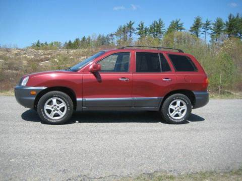 2001 Hyundai Santa Fe for sale at GRS Auto Sales and GRS Recovery in Hampstead NH