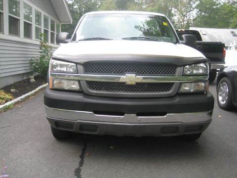 2004 Chevrolet Silverado 2500 for sale at GRS Auto Sales and GRS Recovery in Hampstead NH