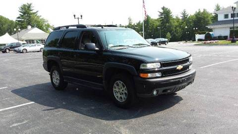 2005 Chevrolet Tahoe for sale at GRS Auto Sales and GRS Recovery in Hampstead NH