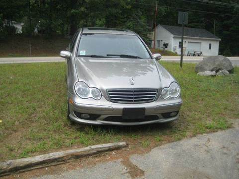 2005 Mercedes-Benz C-Class for sale at GRS Auto Sales and GRS Recovery in Hampstead NH