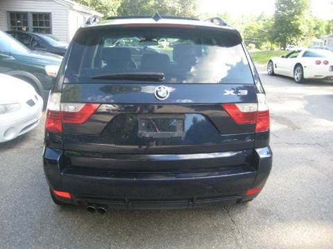 2007 BMW X3 for sale at GRS Auto Sales and GRS Recovery in Hampstead NH
