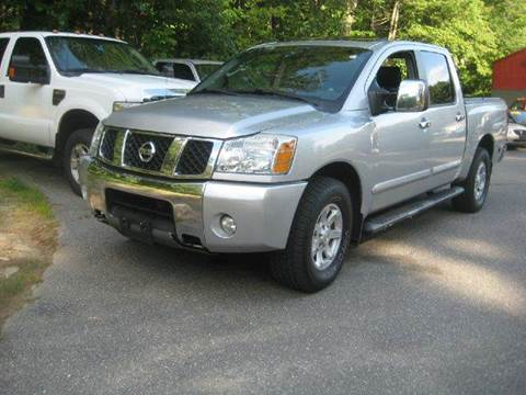2005 Nissan Titan for sale at GRS Auto Sales and GRS Recovery in Hampstead NH