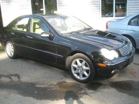 2004 Mercedes-Benz C-Class for sale at GRS Auto Sales and GRS Recovery in Hampstead NH