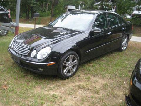 2006 Mercedes-Benz E-Class for sale at GRS Auto Sales and GRS Recovery in Hampstead NH