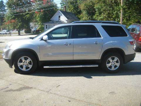 2007 GMC Acadia for sale at GRS Auto Sales and GRS Recovery in Hampstead NH