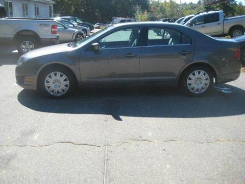 2010 Ford Fusion for sale at GRS Auto Sales and GRS Recovery in Hampstead NH