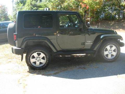 2010 Jeep Wrangler for sale at GRS Auto Sales and GRS Recovery in Hampstead NH