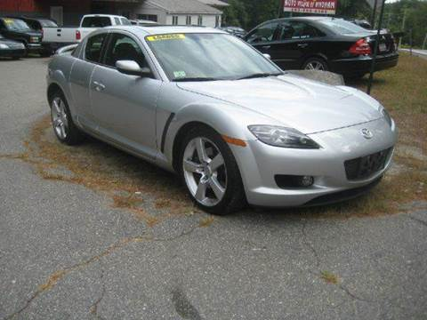 2004 Mazda RX-8 for sale at GRS Auto Sales and GRS Recovery in Hampstead NH