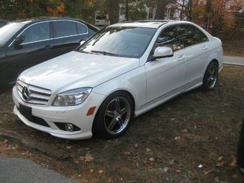 2009 Mercedes-Benz C-Class for sale at GRS Auto Sales and GRS Recovery in Hampstead NH