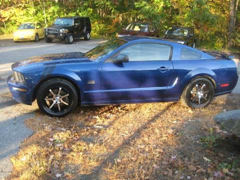 2006 Ford Mustang for sale at GRS Auto Sales and GRS Recovery in Hampstead NH