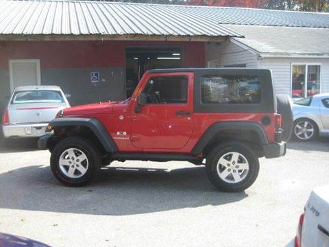 2008 Jeep Wrangler for sale at GRS Auto Sales and GRS Recovery in Hampstead NH