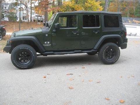 2008 Jeep Wrangler Unlimited for sale at GRS Auto Sales and GRS Recovery in Hampstead NH