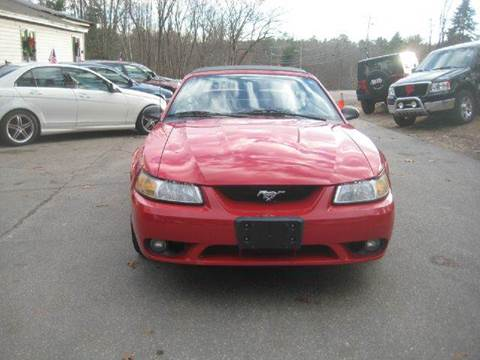1999 Ford Mustang SVT Cobra for sale at GRS Auto Sales and GRS Recovery in Hampstead NH